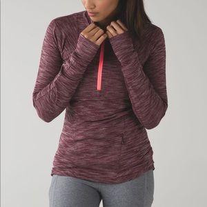 Lululemon canto catch me half zip